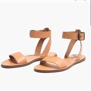 NWT Madewell boardwalk ankle strap sandal
